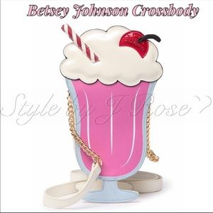 NWT's Betsey Johnson 'Ice Cream' Crossbody